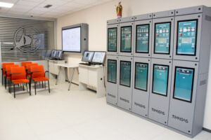 Transas engine room simulator