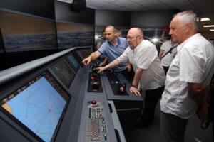 Transas Full Mission Bridge simulator