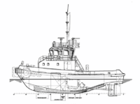 Conventional twin screw tug training
