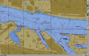 ECDIS Transas map
