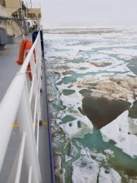 Polar broken ice