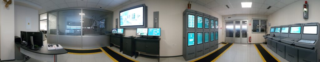 Ship engine and cargo handling simulator
